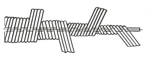 стальной сантехнический трос (гибкий вал проволочный)