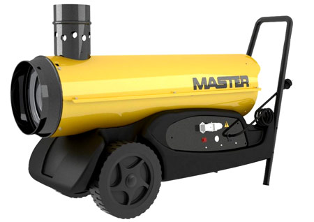 дизельные тепловые пушки непрямого нагрева master