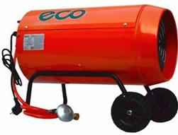 Тепловая газовая пушка прямого нагрева ECO GH 30 (нагреватель газовый)