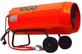 Тепловая газовая пушка прямого нагрева ECO GH 40