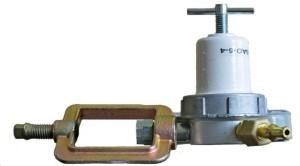 Редуктор ацетиленовый БАО-5-4 (вид сбоку)